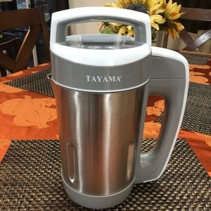 Tayama Stainless Steel Soymilk Maker 1.1L